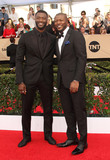 Aldis Hodges Photo - 29 January 2017 - Los Angeles California - Aldis Hodge Edwin Hodge 23rd Annual Screen Actors Guild Awards held at The Shrine Expo Hall Photo Credit AdMedia