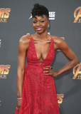 Danai Gurira Photo - 23 April 2018 - Hollywood California - Danai Gurira Disney and Marvels Avengers Infinity War Los Angeles Premiere held at Dolby Theater Photo Credit F SadouAdMedia