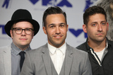 Patrick Stump Photo - 27 August 2017 - Los Angeles California - Andy Hurley Patrick Stump Pete Wentz and Joe Trohman of Fall Out Boy 2017 MTV Video Music Awards held at The Forum Photo Credit F SadouAdMedia