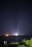 The Interns Photo - A SpaceX Falcon 9 rocket with the companys Crew Dragon spacecraft onboard is seen illuminated by spotlights on the launch pad at Launch Complex 39A as the countdown continues for launch of the Crew-2 mission Friday April 23 2021 at NASAs Kennedy Space Center in Florida NASAs SpaceX Crew-2 mission is the second crew rotation mission of the SpaceX Crew Dragon spacecraft and Falcon 9 rocket to the International Space Station as part of the agencys Commercial Crew Program NASA astronauts Shane Kimbrough and Megan McArthur ESA (European Space Agency) astronaut Thomas Pesquet and Japan Aerospace Exploration Agency (JAXA) astronaut Akihiko Hoshide are scheduled to launch at 549 am EDT from Launch Complex 39A at the Kennedy Space Center Mandatory Credit Joel Kowsky  NASA via CNPAdMedia