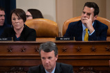 Alabama Photo - United States Representative Matt Gaetz (Republican of Florida) upper right and US Representative Martha Roby (Republican of Alabama) upper leftattend a US House Judiciary Committee hearing on the impeachment of US President Donald Trump on Capitol Hill in Washington DC December 4 2019Credit Saul Loeb  Pool via CNPAdMedia