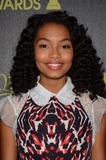 Yara Shahidi Photo - 20 November 2014 - Los Angeles California - Yara Shahidi Arrivals for HFPAInStyles Miss Golden Globes Announcement Party held at Fig  Olive in Los Angeles Ca Photo Credit Birdie ThompsonAdMedia