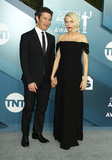 Michelle Williams Photo - 19 January 2020 - Los Angeles California - Thomas Kail Michelle Williams 26th Annual Screen Actors Guild Awards held at The Shrine Auditorium Photo Credit AdMedia