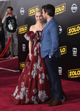 Alden Ehrenreich Photo - 10 May 2018 - Hollywood California - Emilia Clarke Alden Ehrenreich Solo A Star Wars Story Los Angeles Premiere held at Dolby Theater Photo Credit Birdie ThompsonAdMedia