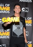 Nyjah Huston Photo - 15 February 2014 - Santa Monica California - Nyjah Huston 2014 Cartoon Networks Fourth Annual Hall of Game Awards held at the Barker Hangar Photo Credit AdMedia