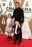 Carey Hart Photo - 13 November 2019 - Nashville Tennessee - Jameson Hart Willow Hart Carey Hart 53rd Annual CMA Awards Country Musics Biggest Night held at Music City Center Photo Credit Laura FarrAdMedia