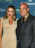 Nicole Miller Photo - 5 April 2018 - Los Angeles California - Tito Ortiz with Amber Nicole Miller Dwayne Johnson Honored at the LA Family Housing Awards 2018 held at The Lot Photo Credit AdMedia