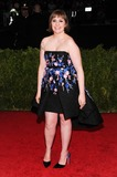 Lena Dunham Photo - 05 May 2014 - New York New York- Lena Dunham Charles James Beyond Fashion Costume Institute Gala Photo Credit Christopher SmithAdMedia