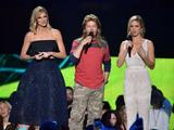 Andrew David Photo - 10 June 2015 - Nashville Tennessee - Erin Andrews David Spade Brittany Snow 2015 CMT Music Awards held at Bridgestone Arena Photo Credit Laura FarrAdMedia
