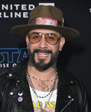 AJ MCLEAN Photo - 16 December 2019 - Hollywood California - AJ McLean  Disneys Star Wars The Rise Of Skywalker Los Angeles Premiere held at Hollywood Photo Credit Birdie ThompsonAdMedia