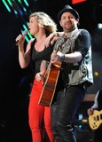 Jennifer Nettles Photo - 10 June 2011 - Nashville Tennessee - Jennifer Nettles and Kristian Bush of Sugarland 2011 CMA Music Festival Nightly Concert held at LP Field Photo Credit Laura FarrAdMedia