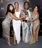 Adrienne Houghton Photo - 29 April 2018 -Pasadena California - Jeannie Mai Tamera Mowry-Housley Loni Love Adrienne Houghton 45th Annual Daytime Emmy Awards held at Pasadena Civic Center Photo Credit Birdie ThompsonAdMedia