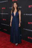 Alisha Boe Photo - 30 March 2017 - Los Angeles California - Alisha Boe  Premiere Of Netflixs 13 Reasons Why held at Paramount Studios in Los Angeles Photo Credit Birdie ThompsonAdMedia