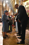 Anthony Joshua Photo - 09032020 - Queen Elizabeth II and Anthony Joshua Craig David and Alexandra Burke Commonwealth Day 2020 Service at Westminster Abbey in London Photo Credit ALPRAdMedia