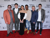 Freida Pinto Photo - Guest Takashi Doscher Freida Pinto Leslie Odom Jr Eyal Rimmon and Jim Kaufman at the 2019 Tribeca Film Festival Premiere of ONLY held at the SVA Theater in Chelsea in New York New York USA 27 April 2019
