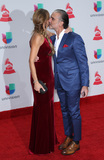 Alejandro Fernandez Photo - 16 November 2017 - Las Vegas NV -  Lili Estefan Alejandro Fernandez  2017 Latin Grammy arrivals at MGM Grand Garden Arena Photo Credit MJTAdMedia