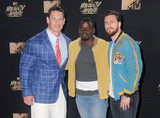 Aaron Taylor-Johnson Photo - 07 May 2017 - Los Angeles California - John Cena Daniel Kaluuya Aaron Taylor-Johnson 2017 MTV Movie Awards - Press Room held at Shrine Auditorium in Los Angeles Photo Credit Birdie ThompsonAdMedia