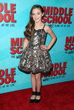 Alexa Nisenson Photo - 05 October 2016 - Hollywood California - Alexa Nisenson Middle School The Worst Years Of My Life Los Angeles Premiere held at TCL Chinese 6 Theatres Photo Credit F SadouAdMedia