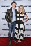 Ashley Hinshaw Photo - 23 August 2016 - West Hollywood California Topher Grace Ashley Hinshaw Los Angeles Premiere of Crackles StartUp held at The London West Hollywood Photo Credit Birdie ThompsonAdMedia