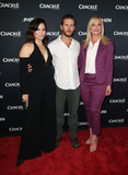 The Cast Photo - 15 January 2018 - Pasadena California - Katrina Law Ryan Kwanten Elisabeth Rohm The Oath Photo Opp with the cast of Crackles new drama series at The Winter TCA Photo Credit F SadouAdMedia