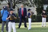 Mariano Rivera Photo - United States President Donald J Trump with Mariano Rivera the MLB Hall of Fame Closer from the Yankees watch young players to mark the Opening Day of the Major League Baseball Season on the South Lawn of the White House in Washington on July 23 2020 Credit Yuri Gripas  Pool via CNPAdMedia