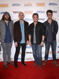 Chris Thompson Photo - 05 April 2013 - Las Vegas NV -  Eli Young Band James Young Jon Jones Mike Eli Chris Thompson  2013 ACM Experience and Big Machine Label Groups  Outnumber Hunger Red Carpet at the Orleans Arena Photo Credit mjtAdMedia