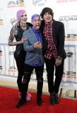 Oli Sykes Photo - 21 July 2014 - Cleveland OH - Music artist JEFFREE STAR singer TYLER CARTER of the band ISSUES and vocalist OLI SYKES of the British band BRING ME THE HORIZON attend the 1st Annual 2014 Gibson Brands AP Music Awards at the Rock and Roll Hall of Fame and Museum   Photo Credit Jason L NelsonAdMedia