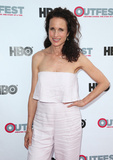 Andie Macdowell Photo - 07 July 2017 - West Hollywood California - Andie MacDowell KEVYN AUCOIN Beauty And The Beast In Me 2017 Outfest Los Angeles LGBT Film Festival Screening Photo Credit F SadouAdMedia