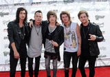 Asking Alexandria Photo - 22 July 2015 - Cleveland Ohio - Ben Bruce James Cassells Cameron Liddell Sam Bettley and Denis Stoff of the band Asking Alexandria attend the 2015 Alternative Press Music Awards at Quicken Loans Arena  Photo Credit Jason L NelsonAdMedia