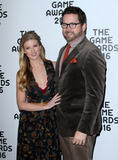Ashley Jenkins Photo - 1 December 2016 - Los Angeles California - Ashley Jenkins and Michael Burnie Burns The Game Awards 2016 held at the Microsoft Theatre Photo Credit AdMedia
