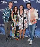 Aya Photo - 02 August 2018 - West Hollywood California - Chris Geere Aya Cash Kether Donohue 2018 FOX Summer TCA held at Soho House Photo Credit Birdie ThompsonAdMedia