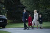 Donald Trump Photo - Ivanka Trump Jared Kushner and their children Arabella and Joseph Kushner walk along the South Lawn to join President Donald Trump on Marine One as they depart the White House for a rally in Pennsylvania on Tuesday September 22 2020 in Washington DC      Credit Sarah Silbiger  Pool via CNPAdMedia