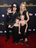 Paul Stanley Photo - 11 July 2017 - Hollywood California - Paul Stanley Disneys Descendants 2 Los Angeles Premiere held at the ArcLight Cinerama Dome in Hollywood Photo Credit Birdie ThompsonAdMedia