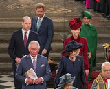 Queen Elizabeth II Photo - 09032020 - Prince Harry Duke Of Cambridge Meghan Markle Duchess Of Sussex Prince William Duke Of Cambridge Kate Middleton Duchess of Cambridge Prince Charles Camilla Duchess Of Cornwall Queen Elizabeth II Commonwealth Day 2020 Service at Westminster Abbey in London Photo Credit ALPRAdMedia