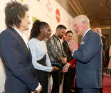 Ronnie Woods Photo - 11032020 - Ronnie Wood Dina Asher Smith Craig David Anthony Ant McPartlin and Declan Dec Donnelly and Prince Charles at The Princes Trust Awards 2020 At The London Palladium Photo Credit ALPRAdMedia
