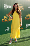 Aulii Cravalho Photo - 8 August 2016 - Los Angeles California - Aulii Cravalho Petes Dragon World Premiere held at El Capitan Theatre in Hollywood Photo Credit AdMedia