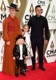 CMA Award Photo - 13 November 2019 - Nashville Tennessee - Jameson Hart Willow Hart Pnk and Carey Hart 53rd Annual CMA Awards Country Musics Biggest Night held at Music City Center Photo Credit Laura FarrAdMedia