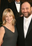 The Sopranos Photo - 19 June 2013 - The Sopranos star James Gandolfini has died at the age of 51 According to multiple sources the three-time Emmy winner suffered a heart attack while on vacation in Italy File Photo 27 January 2008 - Los Angeles California - Edie Falco and James Gandolfini 14th Annual Screen Actors Guild Awards held at the Shrine Auditorium Photo Credit Russ ElliotAdMedia