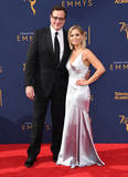 Candace Cameron-Bure Photo - 08 September 2018 - Los Angeles California - Bob Sagat Candace Cameron Bure 2018 Creative Arts Emmys Awards - Arrivals held at Microsoft Theater Photo Credit Birdie ThompsonAdMedia