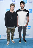 The Chainsmokers Photo - 19 April 2018 -  Los Angeles California - The Chainsmokers WE Day California To Celebrate Young People Changing The World held at The Forum Photo Credit Birdie ThompsonAdMedia