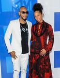 Alicia Keys Photo - 28 August 2016 - New York New York - Swizz Beatz Alicia Keys  2016 MTV Video Music Awards at Madison Square Garden Photo Credit Mario Santoro AdMedia