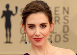 Alison Brie Photo - 21 January 2018 - Los Angeles California - Alison Brie 24th Annual Screen Actors Guild Awards Arrivals held at the Shrine Auditorium in Los Angeles Photo Credit AdMedia