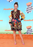 Andrea Barber Photo - 23 March 2019 - Los Angeles California - Andrea Barber 2019 Nickeldeon Kids Choice Awards held at The USC Galen Center Photo Credit Birdie ThompsonAdMedia