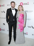Chris Hemsworth Photo - 04 March 2018 - West Hollywood California - Chris Hemsworth Miley Cyrus 26th Annual Elton John Academy Awards Viewing Party held at West Hollywood Park Photo Credit PMAAdMedia