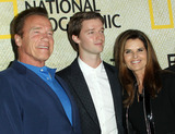 Arnold Schwarzenegger Photo - 30 October 2017 - Los Angeles California - Arnold Schwarzenegger Patrick Schwarzenegger and Maria Shriver National Geographics The Long Road Home Premiere held at Royce Hall in UCLA in Los Angeles Photo Credit AdMedia