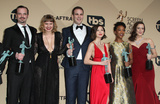 Alan Aisenberg Photo - 29 January 2017 - Los Angeles California - James McMenamin Emily Althaus Alan Aisenberg Kimiko Glenn Samira Wiley Julie Lake 23rd Annual Screen Actors Guild Awards held at The Shrine Expo Hall Photo Credit AdMedia