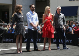 Alex Kurtzman Photo - 20 May 2017 - Hollywood California - Sofia Boutella Jake Johnson Annabelle Wallis Alex Kurtzman Universal Celebrates The Mummy Day With 75-Foot Sarcophagus Takeover At Hollywood And Highland Photo Credit F SadouAdMedia