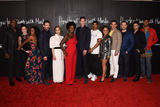 Alfred Enoch Photo - 08 February 2020 - Hollywood California - (L-R) Billy Brown Aja Naomi King Charlie Weber Liza Weil Viola Davis Pete Nowalk Alfred Enoch Amirah Vann Conrad Ricamora  Matt McGorry Jack Falahee and Alfred Enoch How to Get Away with Murder Series Finale at Yamashiro Photo Credit Billy BennightAdMedia