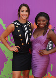 Aly Raisman Photo - 13 July 2017 - Los Angeles California - Aly Raisman Simone Biles Nickelodeon Kids Choice Sports Awards 2017 held at Pauley Pavilion Photo Credit F SadouAdMedia
