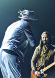 The Tragically Hip Photo - 16 August 2016 - Hamilton Ontario Canada  Gord Downie and Rob Baker of The Tragically Hip perform on stage during Man Machine Poem Final Tour at the FirstOntario Centre  Photo Credit Brent PerniacAdMedia